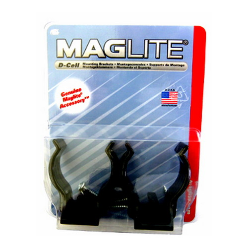 "Maglite Auto Clamp For ""D"" Cell SKU: ASXD026 with Elite Tactical Cloth"