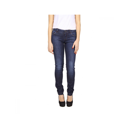 Dolce & Gabbana ladies jeans FT09XD G875D B0310 Blue 38 IT - 2 (Dolce & Gabbana Belted Jeans)