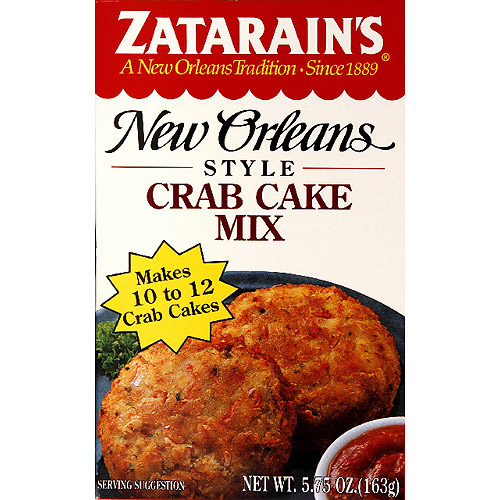 Zatarain's Crab Cake Mix, 5.75 oz, (Pack of 12)