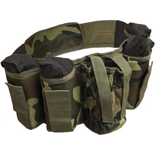 ALEKO PBAH2C Paintball Harness Belt Heavy Duty, Smooth Original Camouflage Green Design by ALEKO