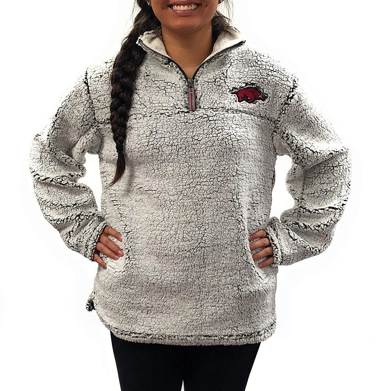 Arkansas Razorbacks Poodle Jacket; Full Zipper University Apparel Clothing