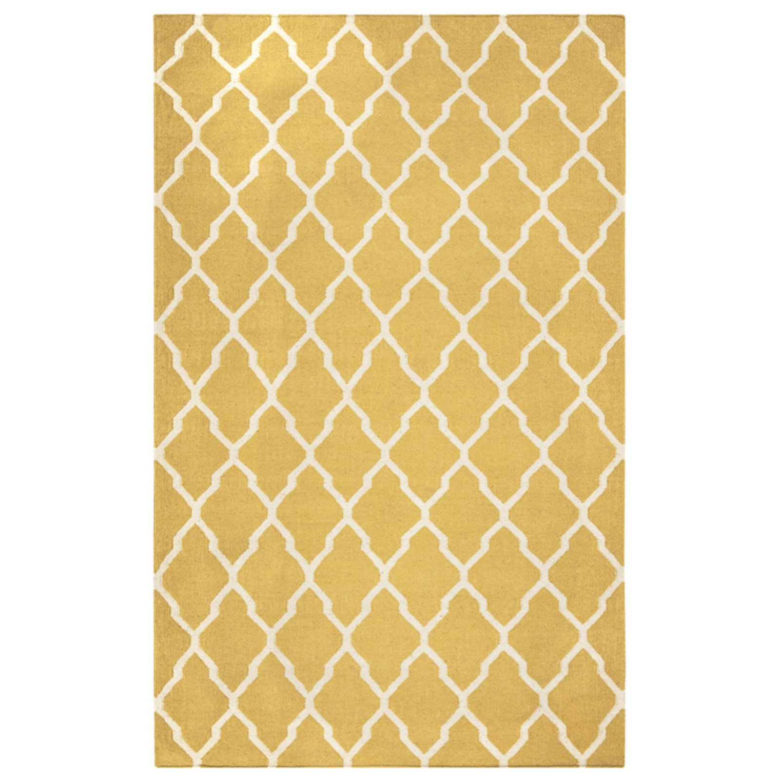 Rizzy Home Swing Hand-Woven Area Rug 8 Ft. X 10 Ft. Yellow