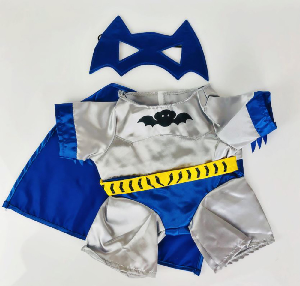Adorable Wizard Costume with Wand Outfit Fits Most 8 to 10 inch Build A Bear and