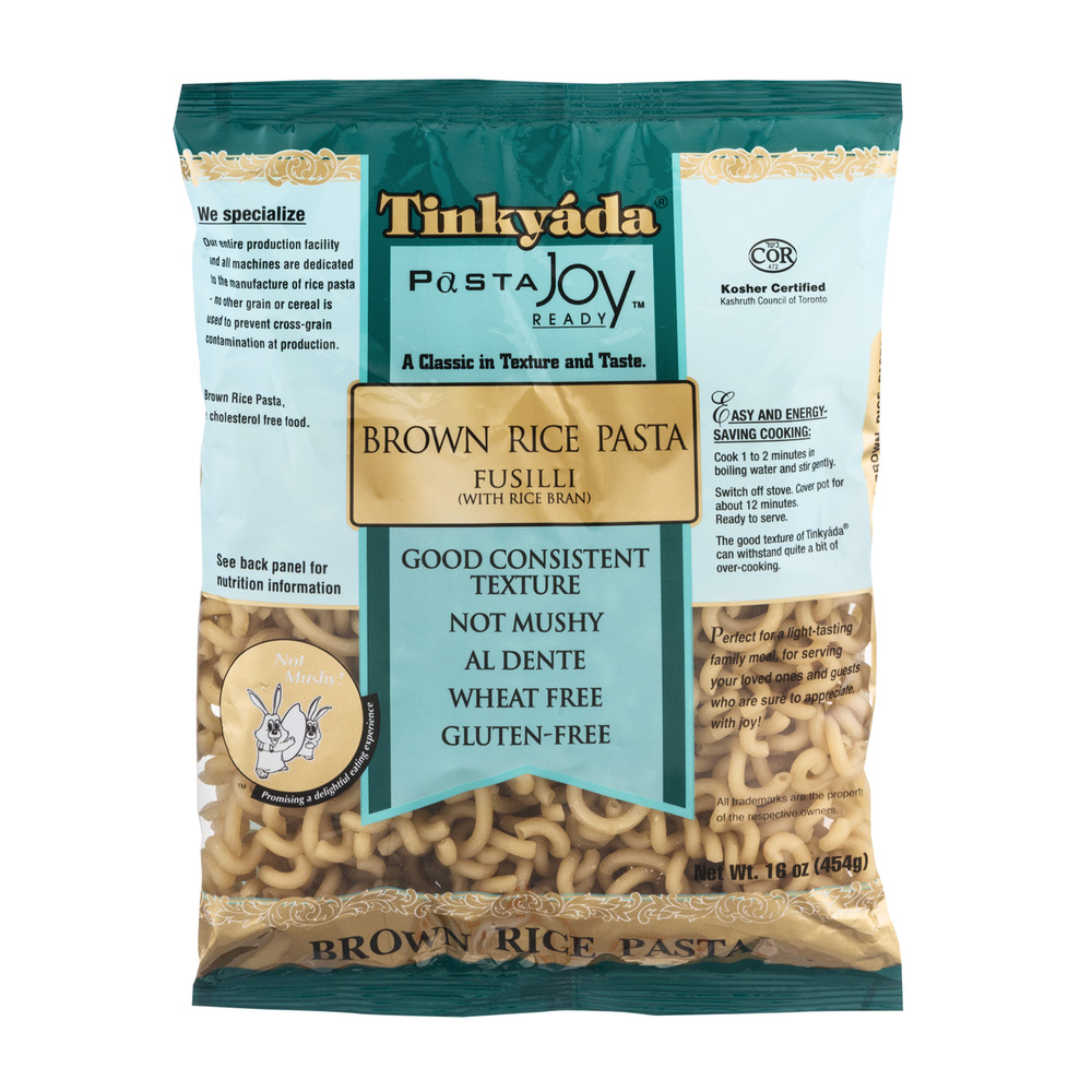 Tinkyada Pasta Joy Ready Brown Rice Fusilli, 16.0 OZ
