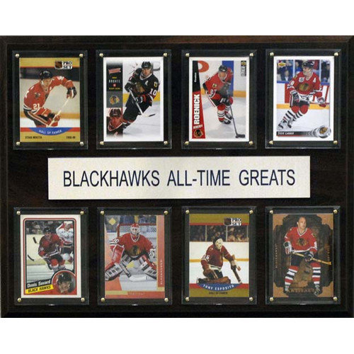 C & I Collectibles NHL Chicago Blackhawks All-Time Greats