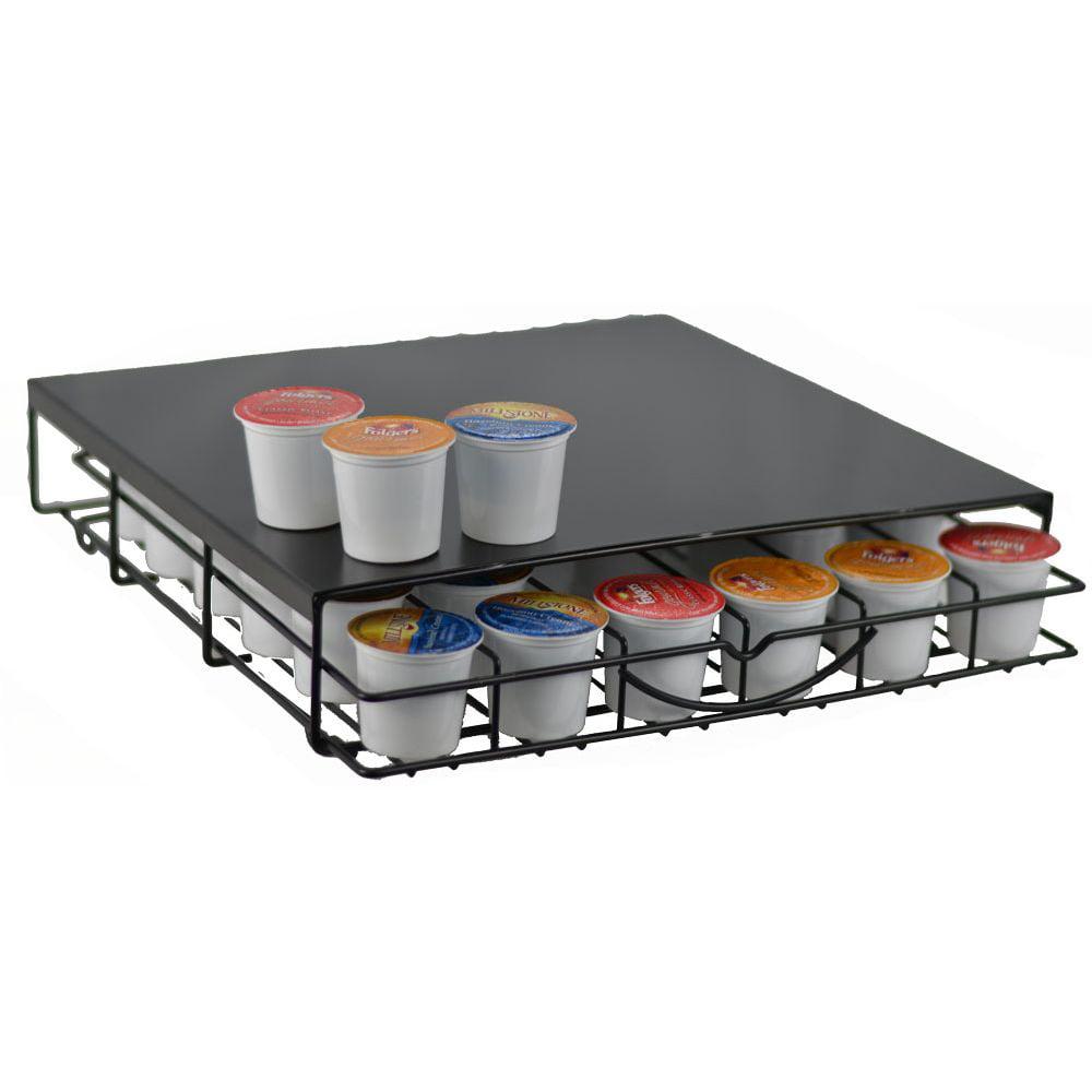 Keurig K-cup Storage Drawer Coffee Holder for 36 K-cups Black
