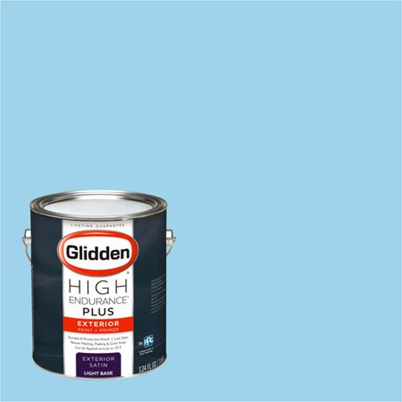 Glidden High Endurance Plus Exterior Paint And Primer Wild Blue Yonder 74bg 61