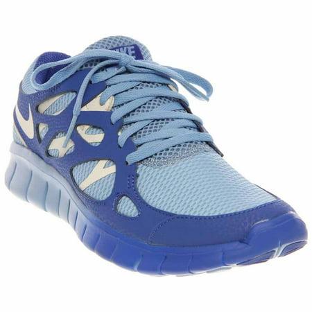 cc77f4970d3c Nike - Nike Women s Free Run 2 EXT Light Blue Sail-Hyper Blue536746-401 -  Walmart.com