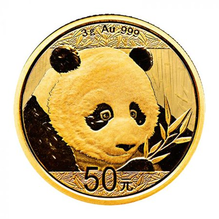 2018 Chinese Gold Panda 3 gram Coin - Chinese Coins Value