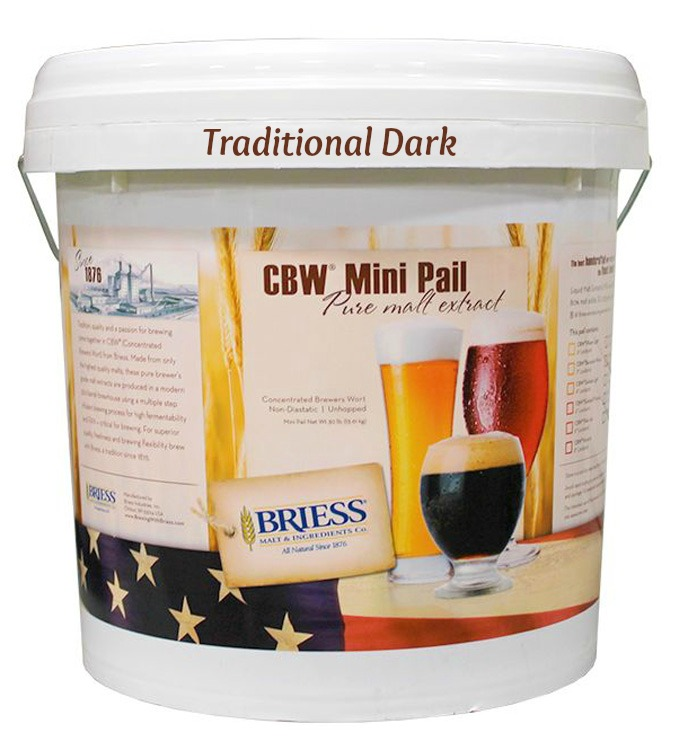 Briess Traditional Dark Liquid Malt Extract 30 Lb. Mini Pail