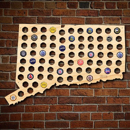 - Connecticut Beer Cap Map