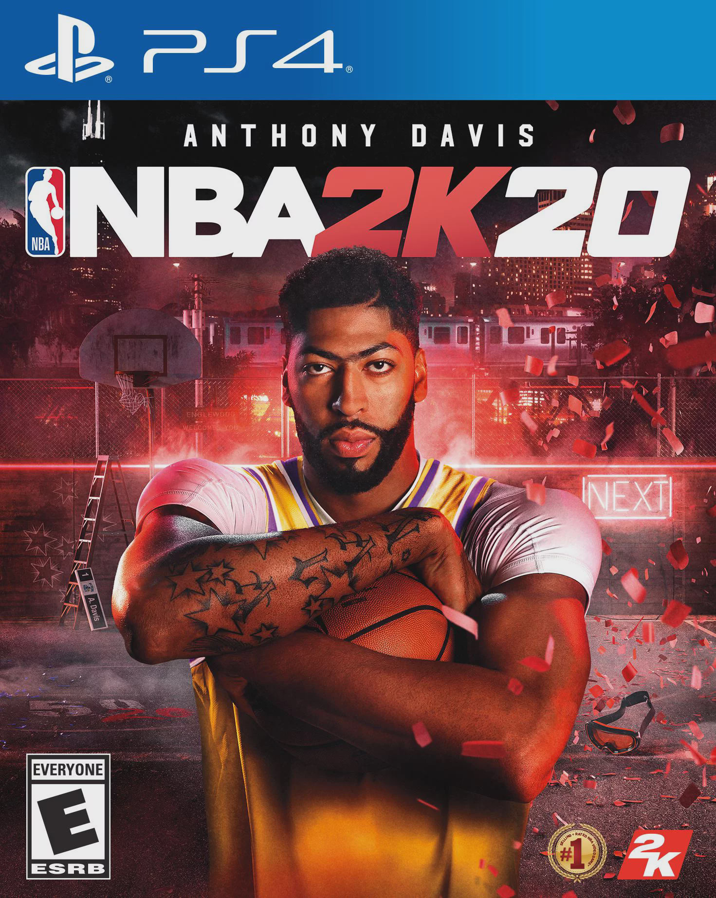 NBA 2K20, 2K, PlayStation 4, 710425575259 - Walmart.com