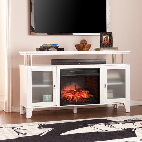 Latitude Run Kastel Media Infrared Electric Fireplace