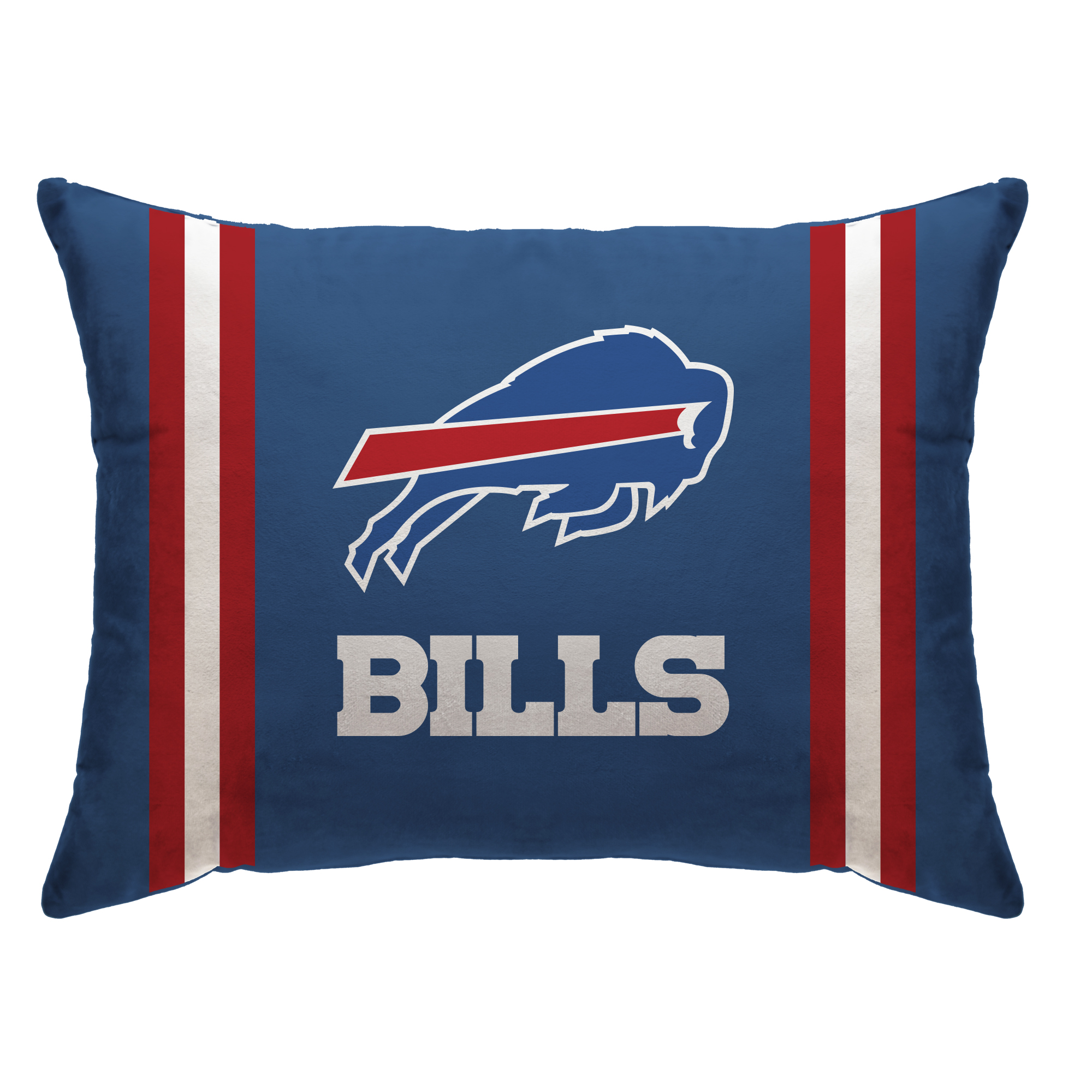 "Buffalo Bills 20"" x 26"" Plush Bed Pillow - Blue - No Size"