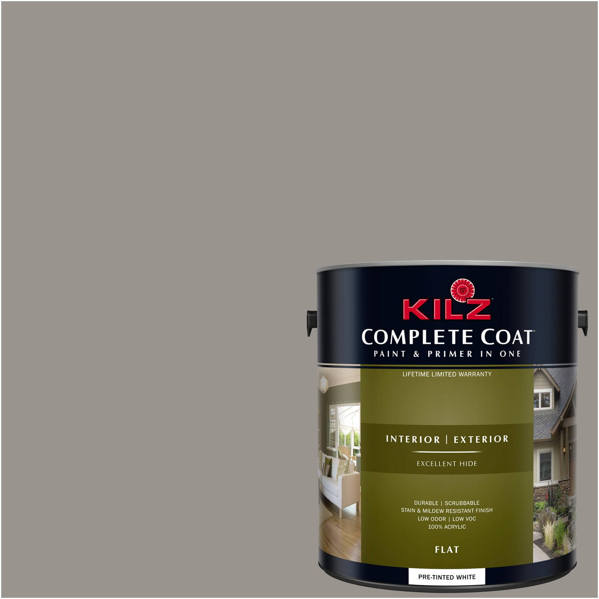 KILZ COMPLETE COAT Interior/Exterior Paint & Primer in One #RL160 Lost Space