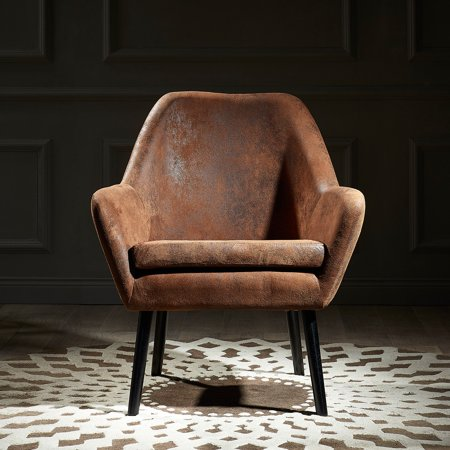 Versanora - Divano Armchair - Aged Fabric - Walmart.com