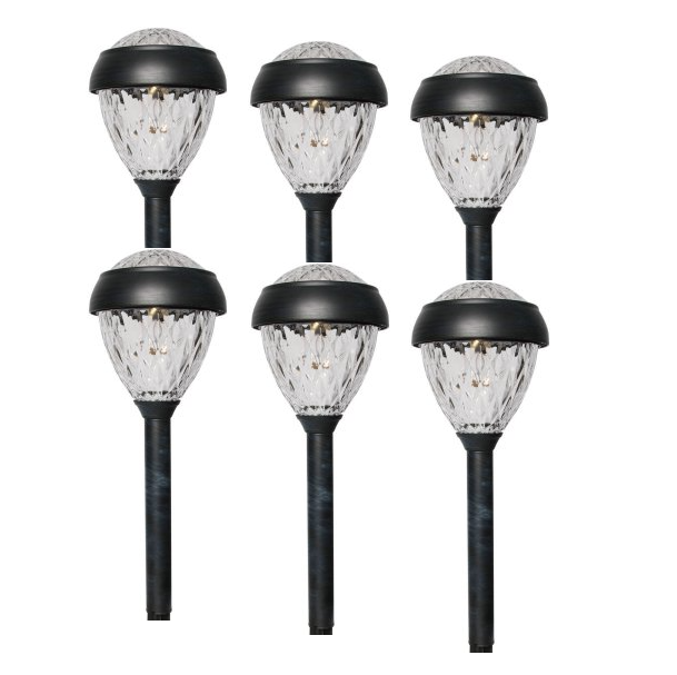 Better Homes and Gardens Park View Solar-Powered Landscape Light Set