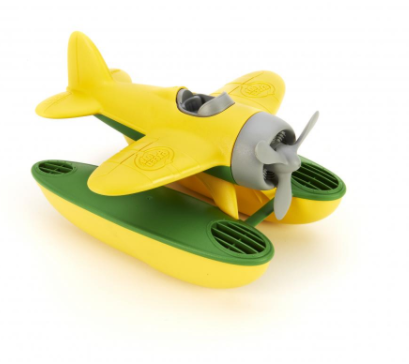 Green Toys Seaplane Bath Toy, Yellow Wings by Green Toys