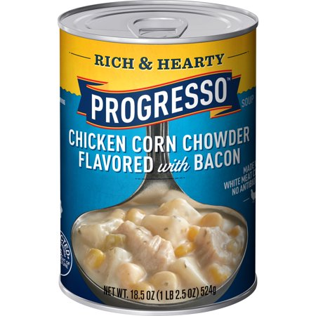 Progresso Rich and Hearty Chicken Corn Chowder, 18.5 oz