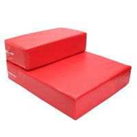 Meigar 2 Steps Pet Stairs Folding Ramp Portable Ladder Dogs Cats Bed Stair