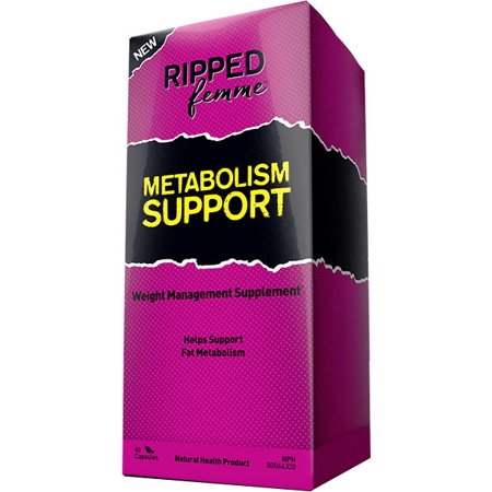 Métabolisme Femme Ripped Support - 60 Capsules (Femmes Produits)