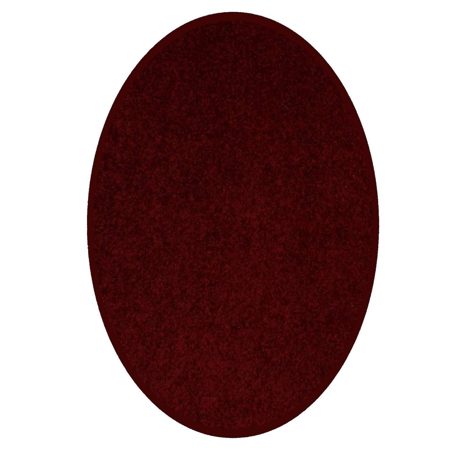 Pet Friendly Rugs Reviews: Ambiant Pet Friendly Solid Color Area Rugs Burgundy