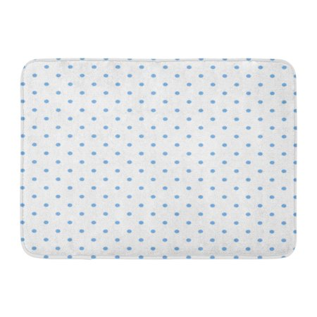 Laddke Blue White Polka Dot Pattern Green Retro Circle