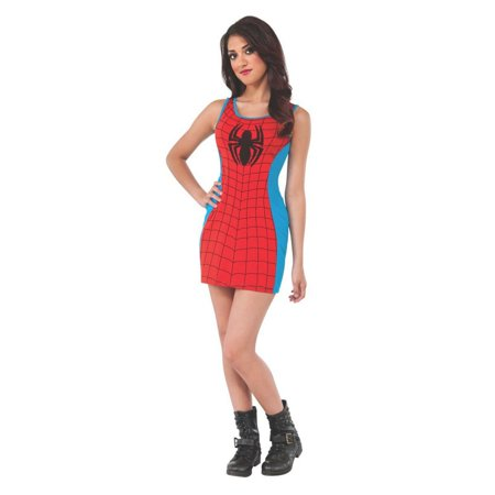 Halloween Marvel Spider-Girl Adult Tank Dress