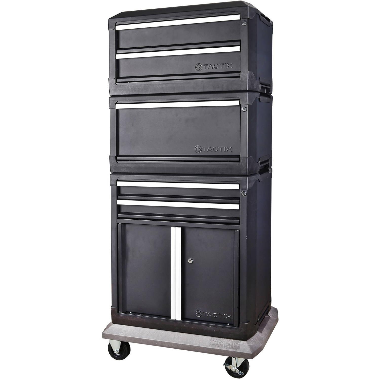 sc 1 st  Walmart & Tactix Modular Storage 2-Drawer 2-Door Cabinet - Walmart.com