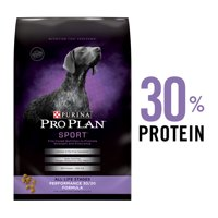 Purina Pro Plan High Protein Dry Dog Food; SPORT Performance 30/20 Formula (Various Sizes)