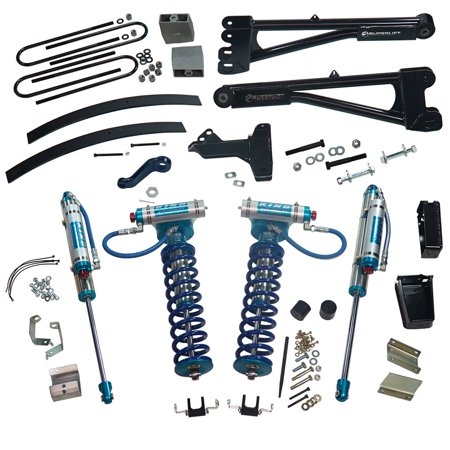 """SuperLift KING Edition 8"""" Lift Kit 2011-2016 Ford F-250 F-350 Super Duty 4WD Diesel Engine with Replacement Radius Arms"""