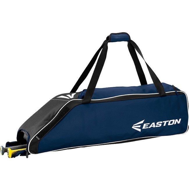 "Easton E310W Carrying Case (Roller) for Gear, Bat, Baseball - Navy - Carrying Strap - 9"" Height x 9"" Width x 36"" Depth"