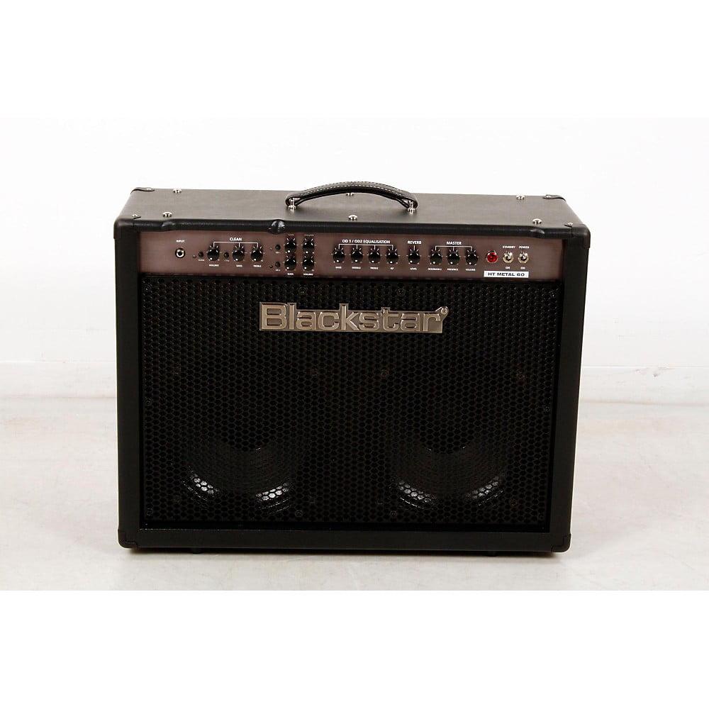 Blackstar HT Metal Series HTMETAL60C 60W 2x12 Tube Guitar Combo w/Reverb Level 3 Black 888365842462