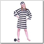 Lady Convict Costume - Size Adult