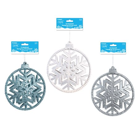 Oversized Christmas Snowflake Ornament by Holiday Essentials](Oversized Ornaments)