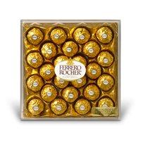 Ferrero Rocher Chocolates Diamond Gift Box, 10.6 Oz., 24 Ct.