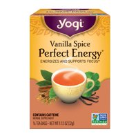 (3 Boxes) Yogi Tea, Vanilla Spice Perfect Energy Tea, Tea Bags, 16 Ct, 1.12 OZ