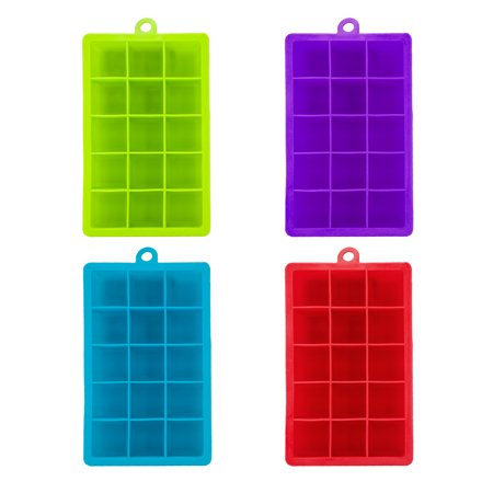 Custom Ice Trays (DrinkMate® Silicone 15 SECTION ICE)