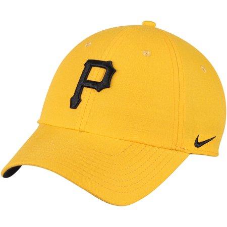 low priced 4e549 de8b7 Pittsburgh Pirates Nike Heritage 86 Stadium Performance Adjustable Hat -  Gold - OSFA