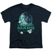Veronica Mars Marshmallow Logo Big Boys Shirt