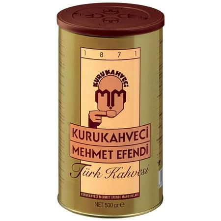 Kurukahveci Mehmet Efendi Ground and Roasted Turkish Coffee – 1.1lb ()