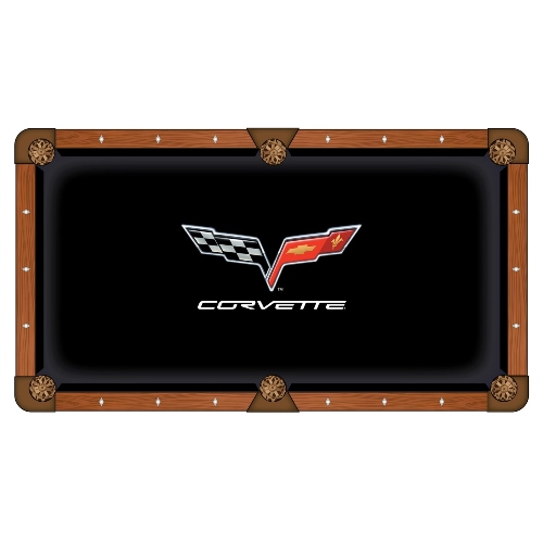 Holland Bar Stool NCAA 8-Foot Corvette C6 Pool Table Cloth
