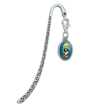 Looney Tunes Marvin The Martian Metal Bookmark Page Marker with Oval (Marvin The Martian In The Third Dimension)