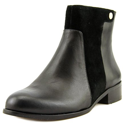 Vince Camuto CICI2 Women Round Toe Leather Black Ankle Boot