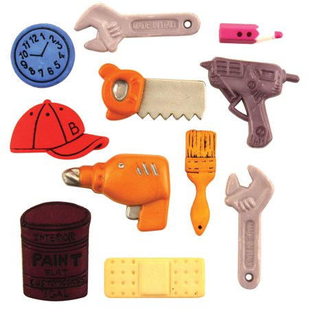 Themed Craft Buttons (Button Theme Pack-Handyman)