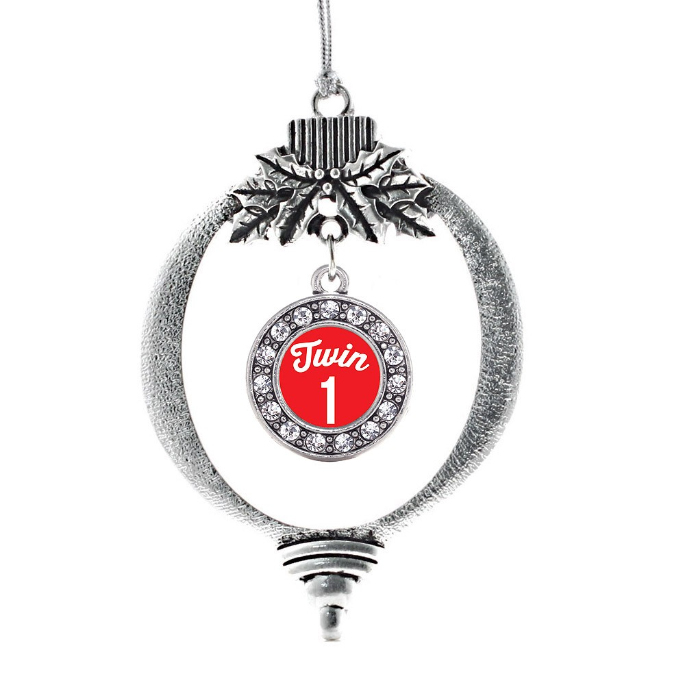 Twin One Circle Holiday Ornament