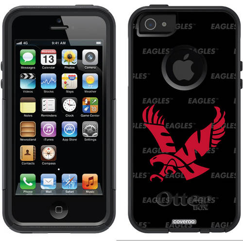 Eastern Washington Repeating Design on OtterBox Commuter Series Case for Apple iPhone 5/5s