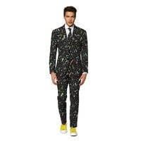 OppoSuits Men's Disco Dude Carnival Suit
