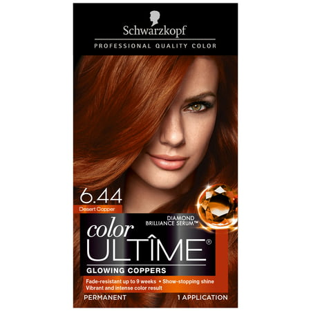 Schwarzkopf Color Ultime Permanent Hair Cream 6 44 Desert Copper
