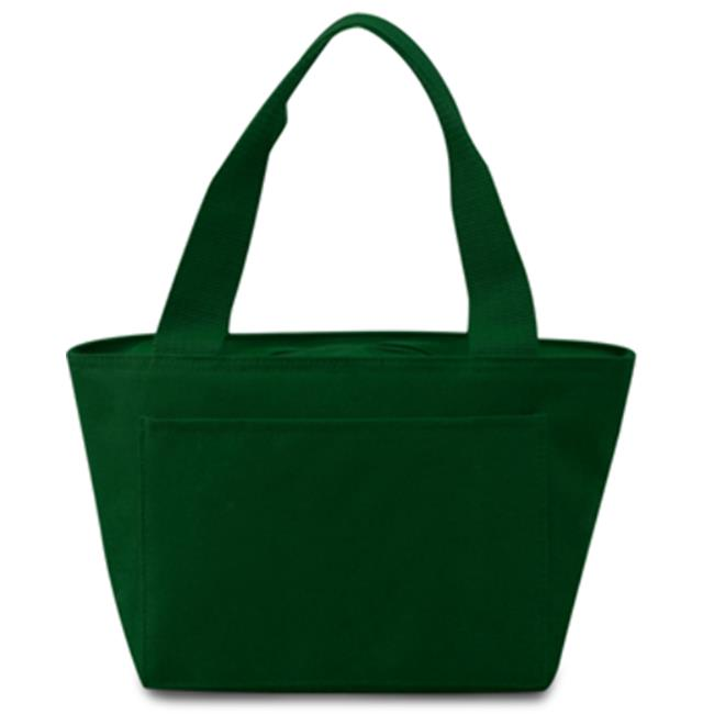 DDI 1917470 Insulated Cooler Tote Lunch Bag, Forest